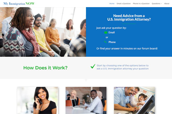 myimmigrationnow.com screenshot